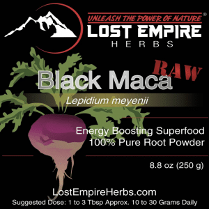 Black Maca, 7 Natural Remedies to Improve Your Performance